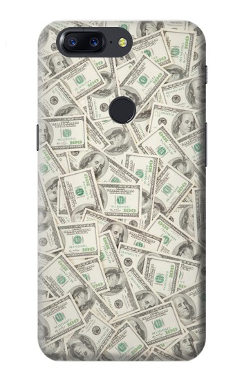 Printed Money Dollar Banknotes OnePlus 5T Case