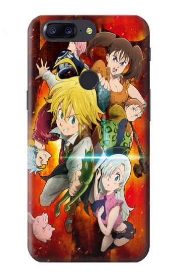 Printed Nanatsu no Taizai The Seven Deadly Sins Wrath Dragon Meliodas OnePlus 5T Case
