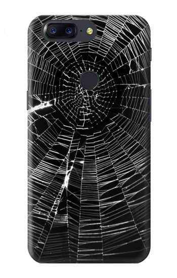 Printed Spider Web OnePlus 5T Case
