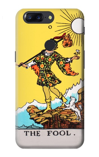 Printed Tarot Card The Fool OnePlus 5T Case