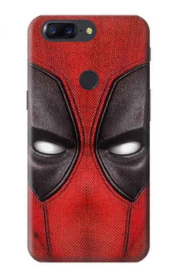 Printed Deadpool Mask OnePlus 5T Case