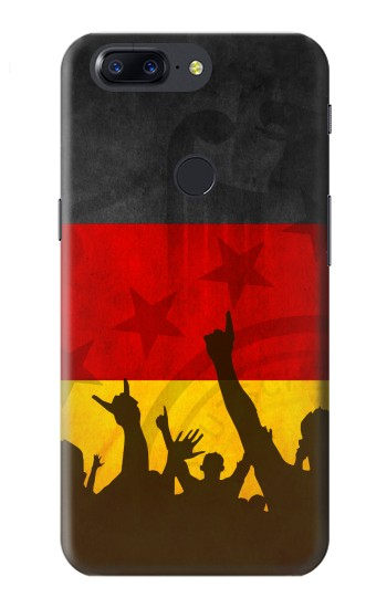Printed Germany Football Flag OnePlus 5T Case