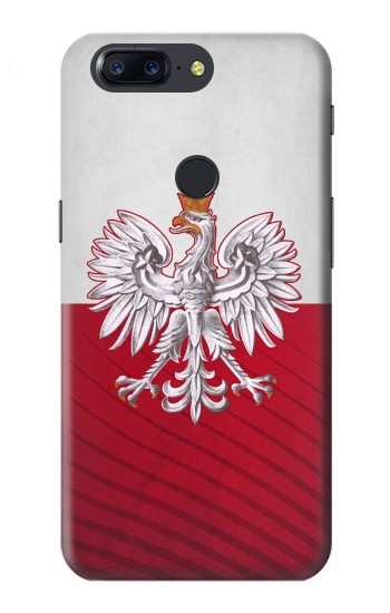 Printed Poland Football Flag OnePlus 5T Case