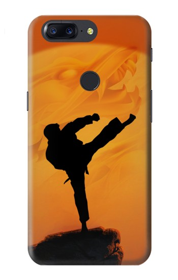 Printed Kung Fu Karate Fighter OnePlus 5T Case