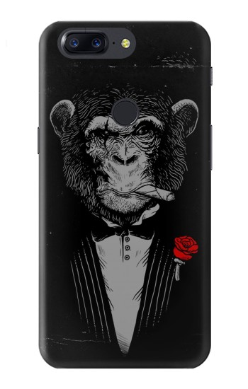 Printed Funny Monkey God Father OnePlus 5T Case