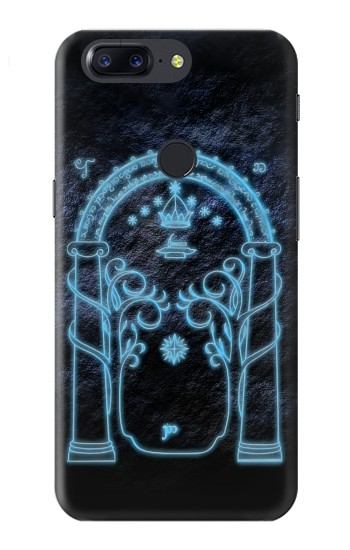 Printed Lord of The Rings Mines of Moria Gate OnePlus 5T Case