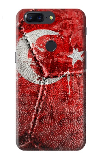 Printed Turkey Flag Vintage Football 2018 OnePlus 5T Case