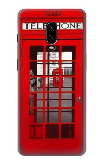 Printed Classic British Red Telephone Box OnePlus 6T Case