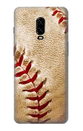 Printed Baseball OnePlus 6T Case