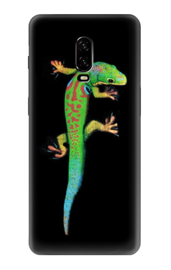 Printed Green Madagascan Gecko OnePlus 6T Case