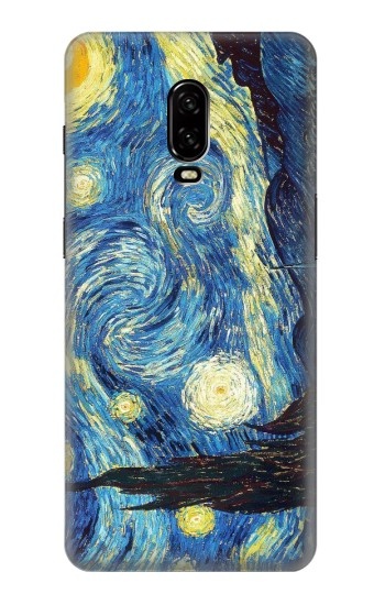 Printed Van Gogh Starry Nights OnePlus 6T Case