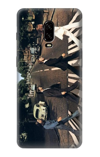 Printed The Beatles Abbey Road OnePlus 6T Case