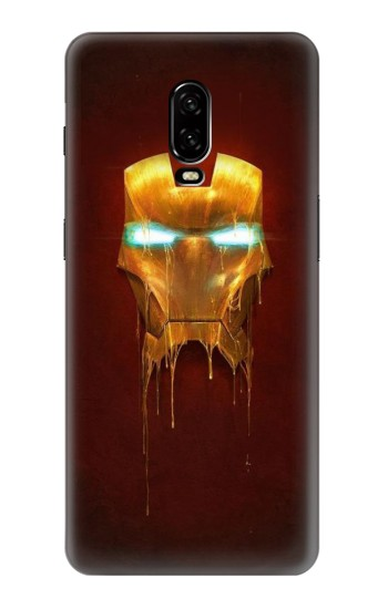 Printed Ironman Mask OnePlus 6T Case
