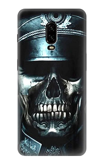 Printed Skull Soldier Zombie OnePlus 6T Case