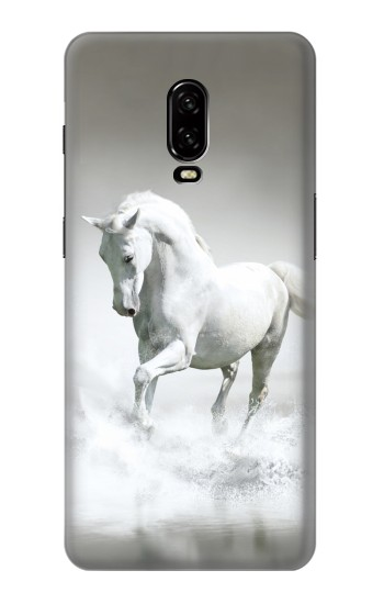 Printed White Horse OnePlus 6T Case