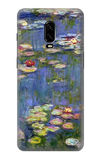 Printed Claude Monet Water Lilies OnePlus 6T Case