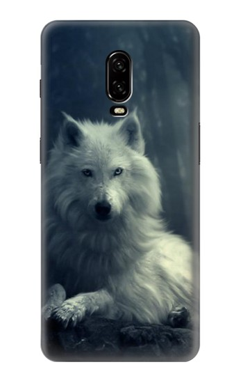 Printed White Wolf OnePlus 6T Case