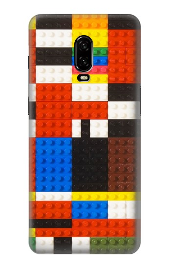 Printed Brick Toy Lego Graphic Printed OnePlus 6T Case