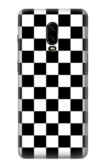 Printed Checkerboard Chess Board OnePlus 6T Case