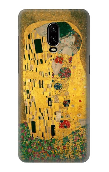 Printed Gustav Klimt The Kiss OnePlus 6T Case