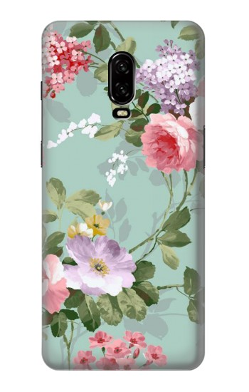 Printed Flower Floral Art Painting OnePlus 6T Case