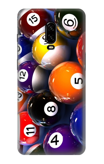 Printed Billiard Pool Ball OnePlus 6T Case