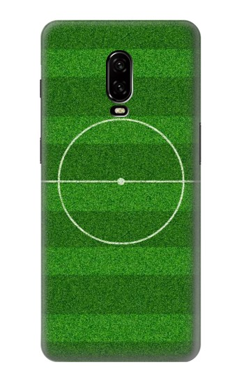 Printed Football Soccer Field OnePlus 6T Case