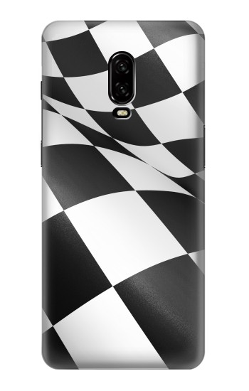 Printed Checkered Winner Flag OnePlus 6T Case