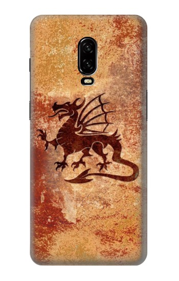 Printed Dragon Metal Texture OnePlus 6T Case