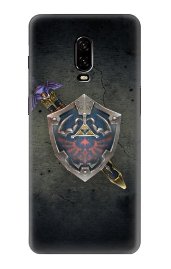 Printed Legend of Zelda Shield OnePlus 6T Case