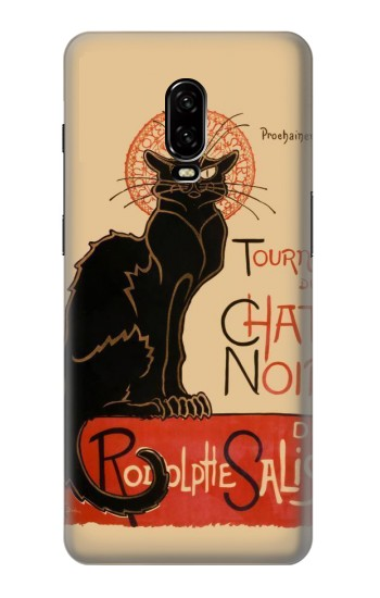 Printed Chat Noir The Black Cat OnePlus 6T Case