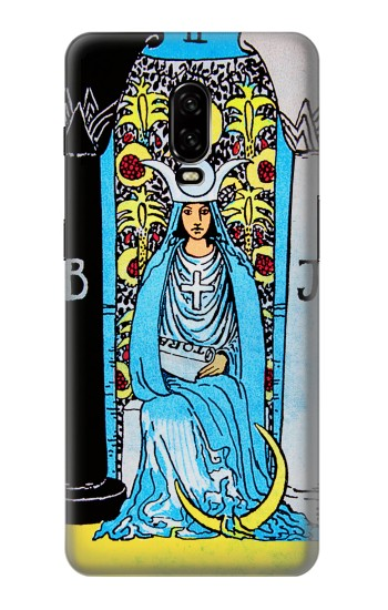 Printed The High Priestess Vintage Tarot Card OnePlus 6T Case
