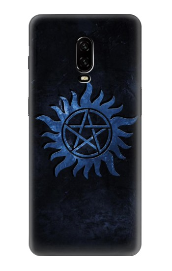 Printed Supernatural Anti Possession Symbol OnePlus 6T Case