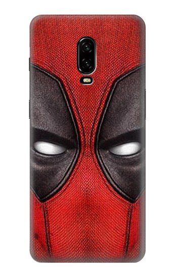 Printed Deadpool Mask OnePlus 6T Case