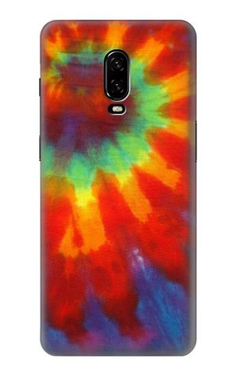 Printed Colorful Tie Dye Fabric Texture OnePlus 6T Case