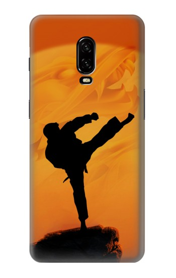 Printed Kung Fu Karate Fighter OnePlus 6T Case