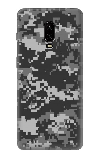 Printed Urban Black Camouflage OnePlus 6T Case