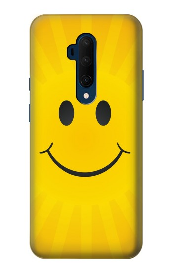 Printed Yellow Sun Smile OnePlus 7T Pro Case