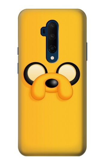 Printed Adventure Time Jake Face OnePlus 7T Pro Case
