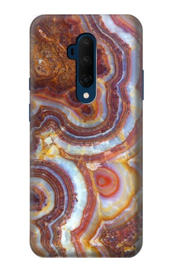 Printed Colored Marble Texture Printed OnePlus 7T Pro Case