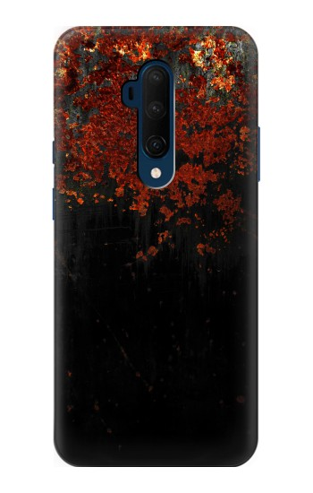 Printed Rusted Metal Texture OnePlus 7T Pro Case