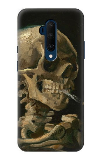Printed Vincent Van Gogh Head Skeleton Cigarette OnePlus 7T Pro Case
