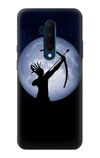 Printed Indian Hunter Moon OnePlus 7T Pro Case