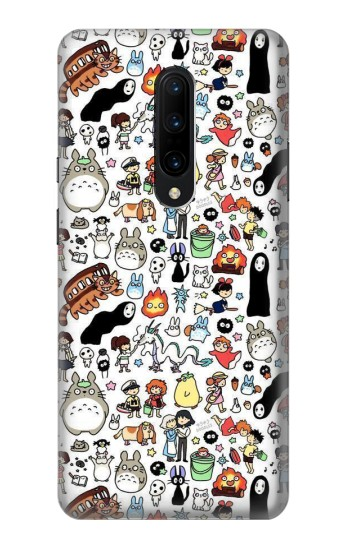 Printed Ghibli Characters OnePlus 7 Pro Case