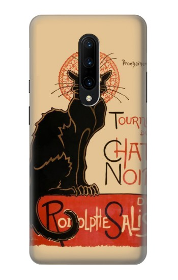 Printed Chat Noir The Black Cat OnePlus 7 Pro Case