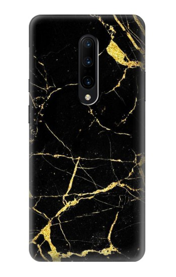 Printed Gold Marble Graphic Printed OnePlus 7 Pro Case