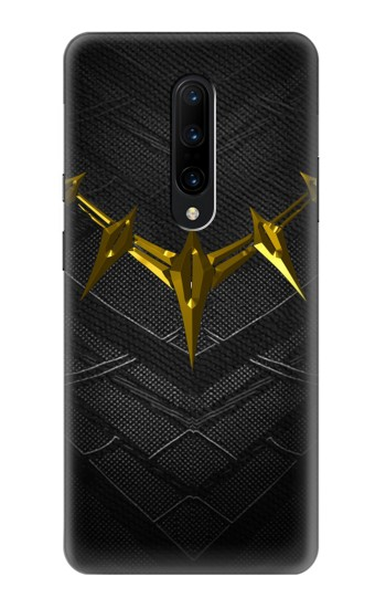Printed Black Panther Inspired Costume Gold Necklace OnePlus 7 Pro Case