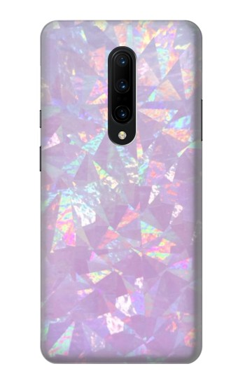 Printed Iridescent Holographic Photo Printed OnePlus 7 Pro Case