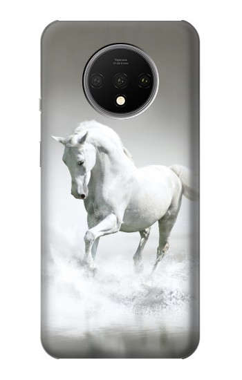 Printed White Horse OnePlus 7T Case
