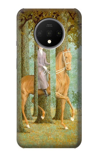 Printed Rene Magritte The Blank Signature OnePlus 7T Case
